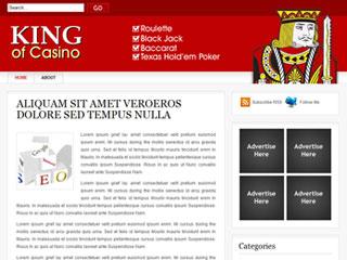 King of casino wordpress theme