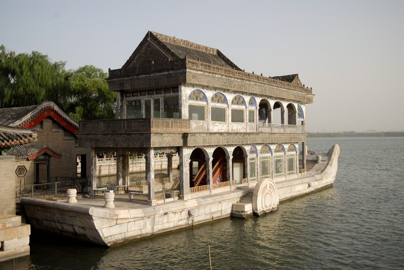The Marble Boat in the Summer Palace.