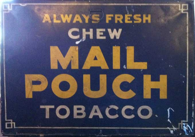 Mail Pouch Label
