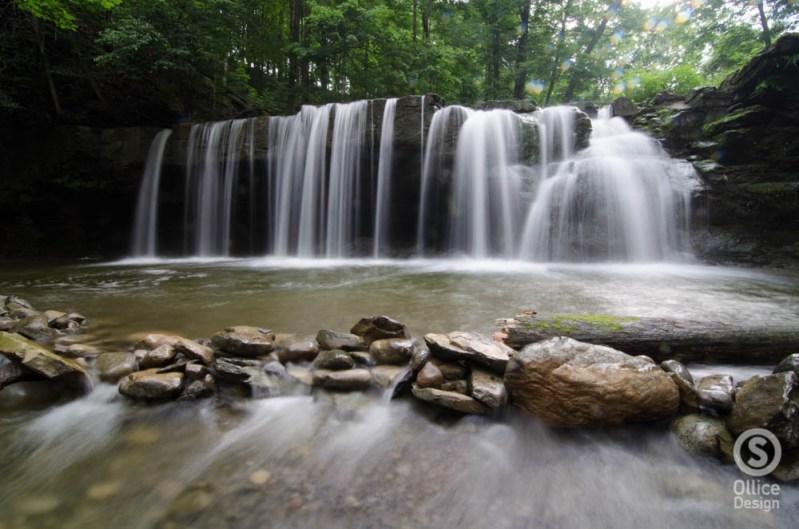 Great Gully, Upper Falls