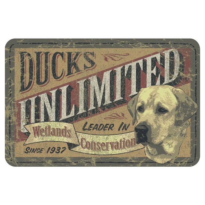 Ducks Unlimited - Label