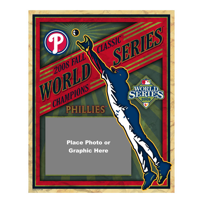 2008 MLB World Series Poster