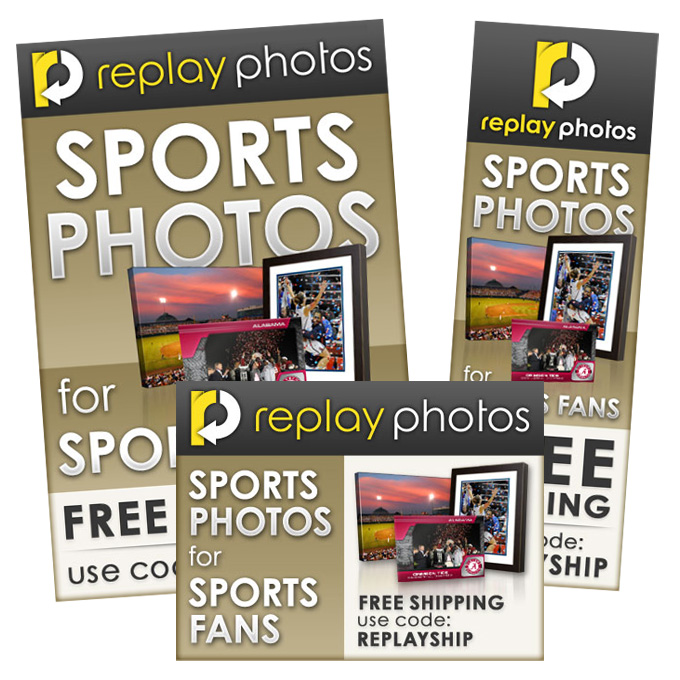 Replay Photo Banner Ads