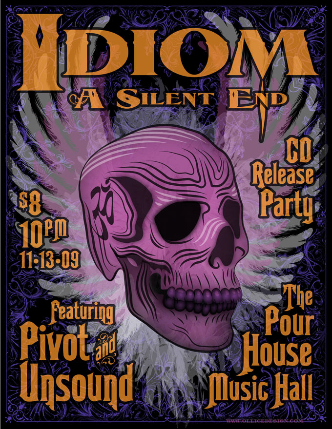 Idiom CD release poster