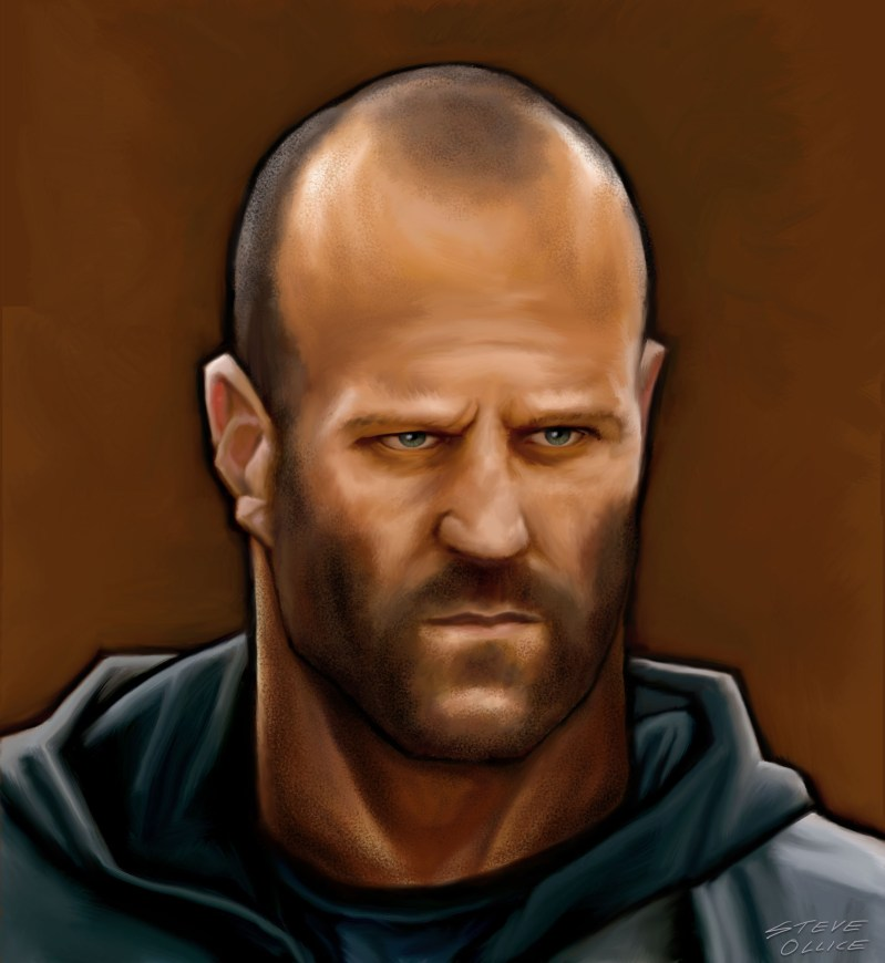 Jason Statham Caricature