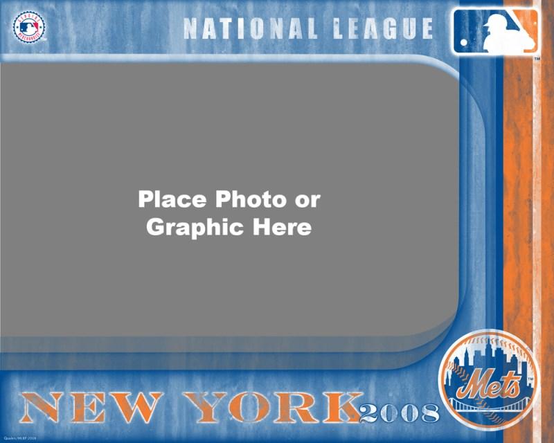 New York Mets Photo Template