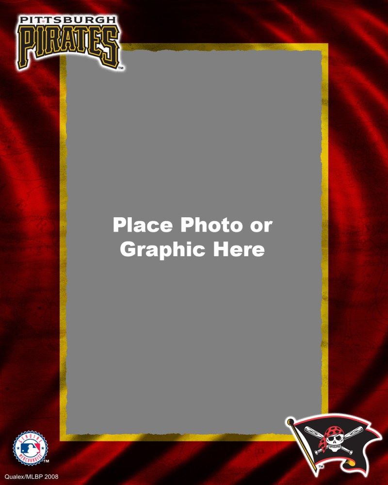 Pittsburgh Pirates Photo Template