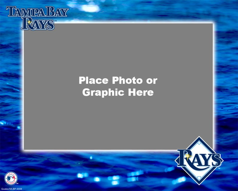 Tampa Bay Rays Photo Template