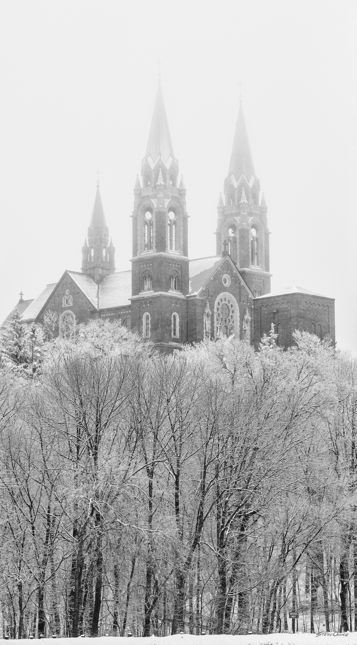Holy Hill snow day