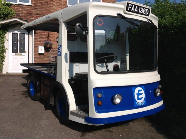 Milk Float from Express Dairies