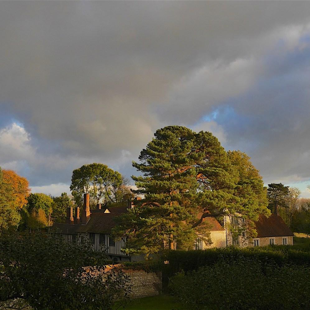Ightham Mote in autumn light