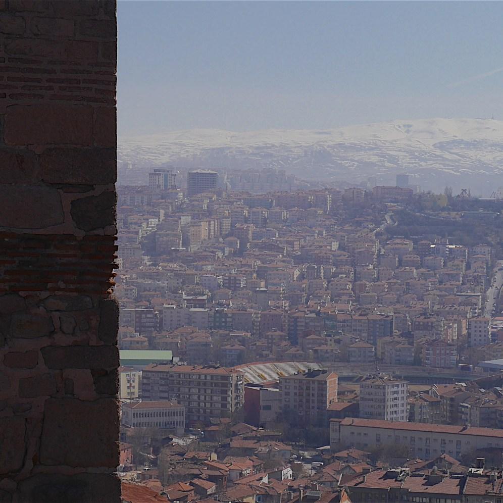 Ankara from the castle