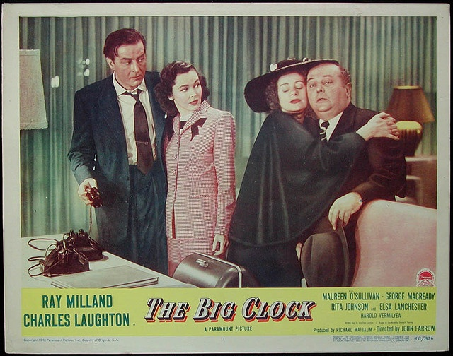 The Big Clock (1948) Lobby Card