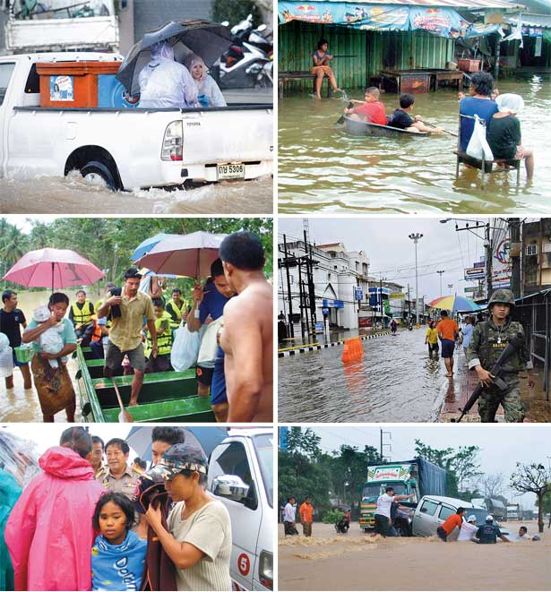 Floods Submerge South Thailand (6/6)