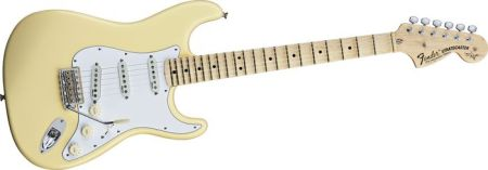 Yngwie Malmsteen Fender guitar review - Fender scalloped fretboard review