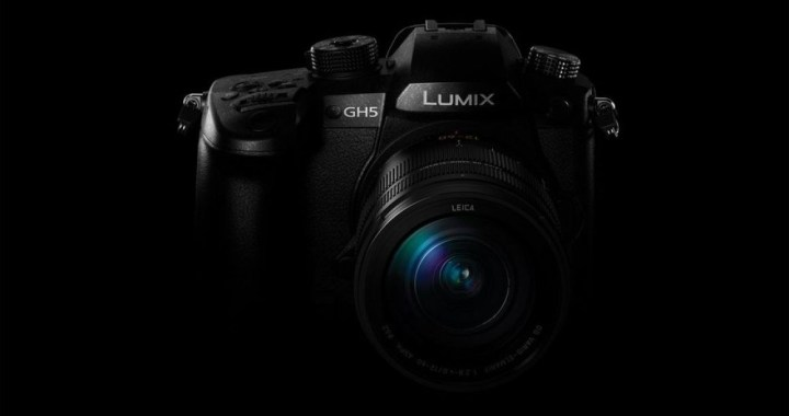 panasonic gh5 camera for pro photography and 4k video