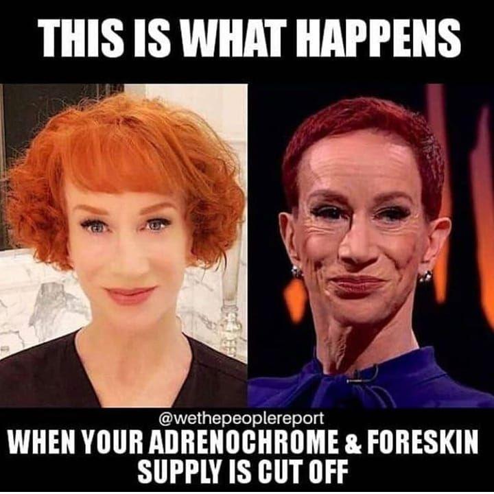adrenochrome withdrawals