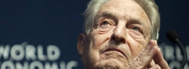 George Soros funds ANTIFA