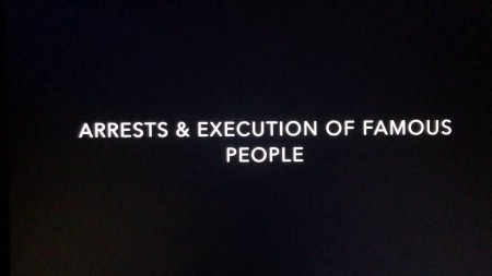 Arrests and executions of famous people 2021