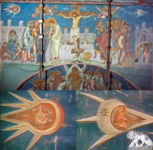 UFOs in renaissance art. Were ufo's present in the time of Jesus Christ?