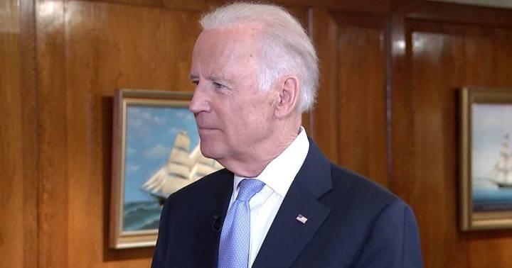 Biden or Biden clone with hanging ear lobes