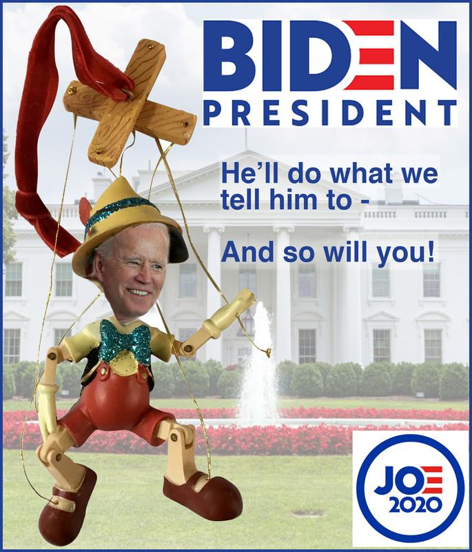 puppet biden is not president