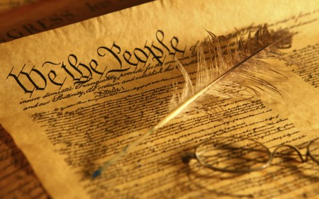 US Constitution is the law of the land