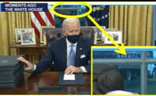 biden is not in the whitehouse and not allowed in the capitol building. who is the actor playing biden?