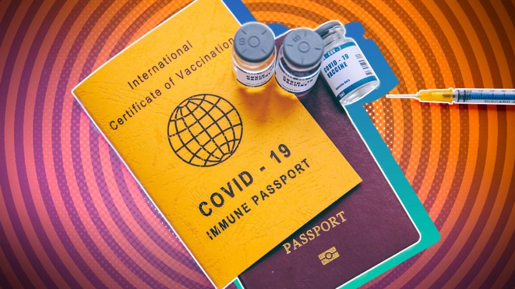Mandatory vaccine passports by cdc