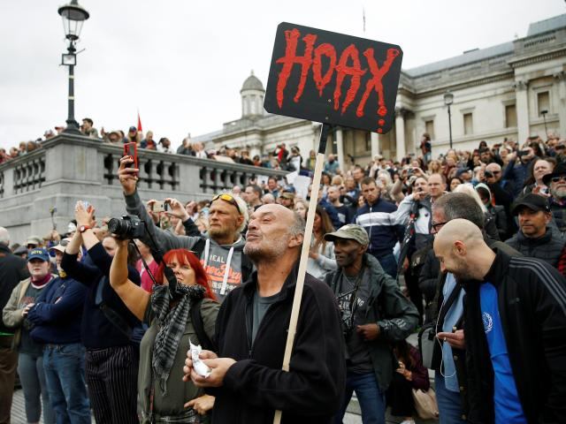 Anti Covid Vaccine Rally in UK. Covid Vaccine protests and rallies against Covid Vaccine restrictions and mandates continue in France, Germany, Italy and the UK. ROTTER News