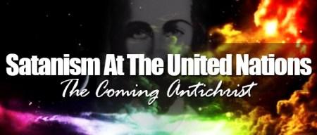 United Nations luciferian worship