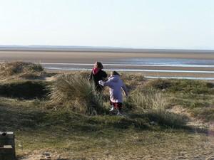 Kids go exploring
