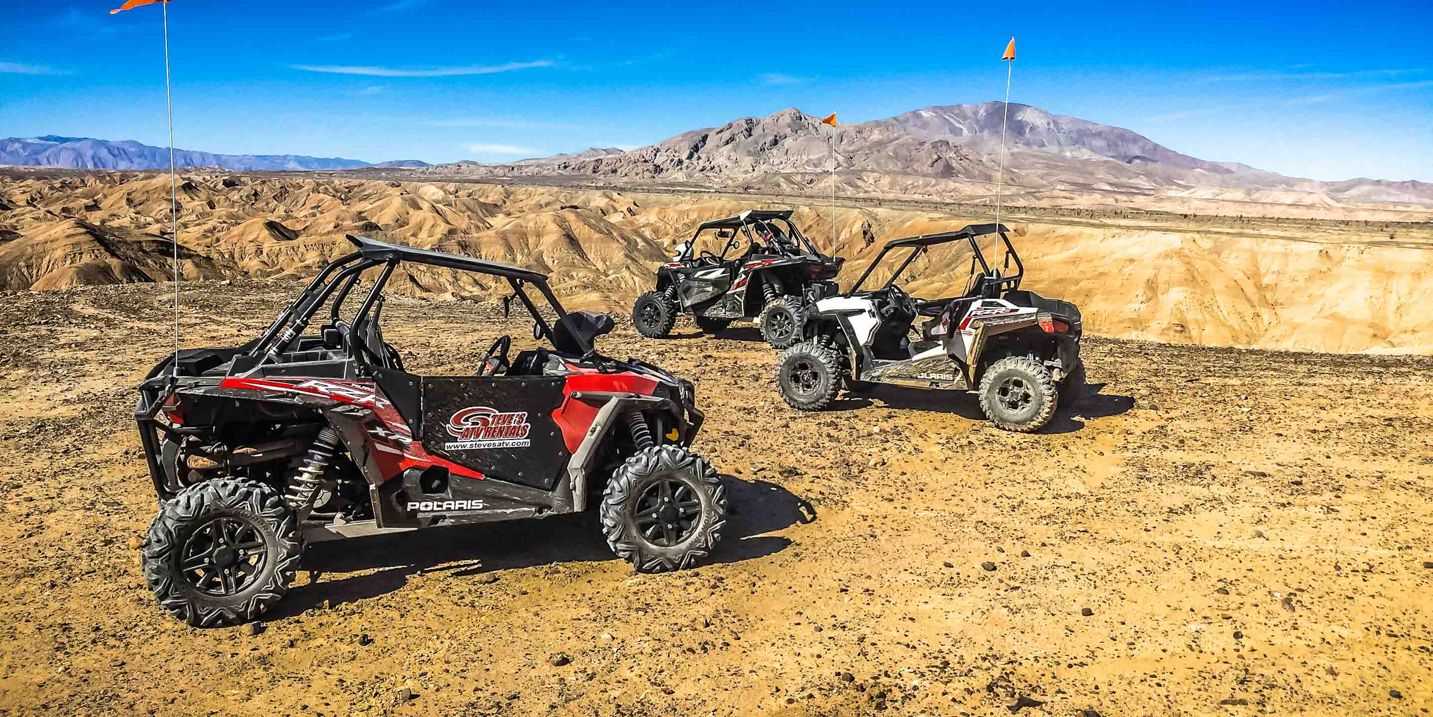 Experience the Ultimate Off-Road Adventure in the Palm Springs Area - Steve's ATV Rentals
