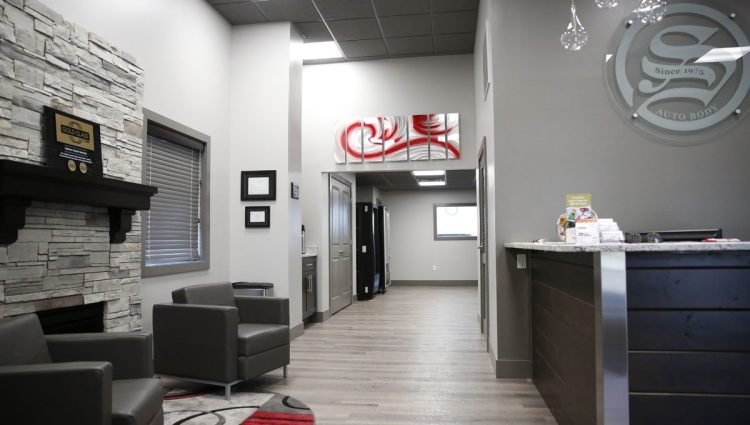 Take A Look Inside Steves Auto Bodys Offices Collision Repair Facility