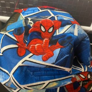 Spider-Man Face Mask - Spiderman Face Mask - a great face mask for that Spider-Man fan! #Spiderman #FaceMask