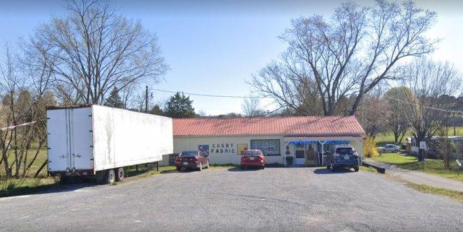 Cosby Fabrics 662 Patterson Rd, Harrogate, TN 37752