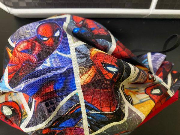Shards Spider-Man Face Mask #Spiderman