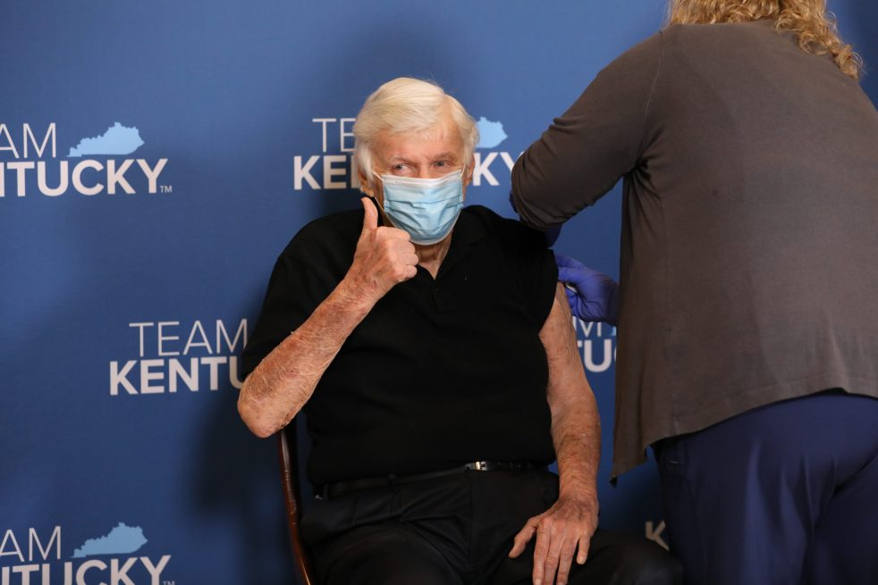 Five Former Kentucky Governors of Both Parties Receive COVID Vaccine - Spouses join governors to highlight bipartisan support for safe, effective vaccine.