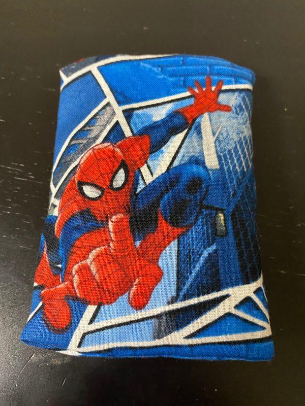 Spider-Man Pocket Tissue Holder - Let Spider-Man keep your tissues safe in this pocket tissue holder. #Spiderman