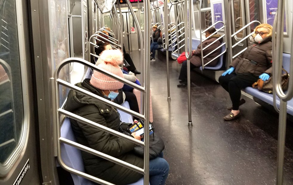 CDC requires wearing of face masks while on public transportation and at transportation hubs - As the COVID-19 pandemic continues to surge in the United States, CDC is implementing provisions of President Biden's Executive Order. - MetroCreative Image