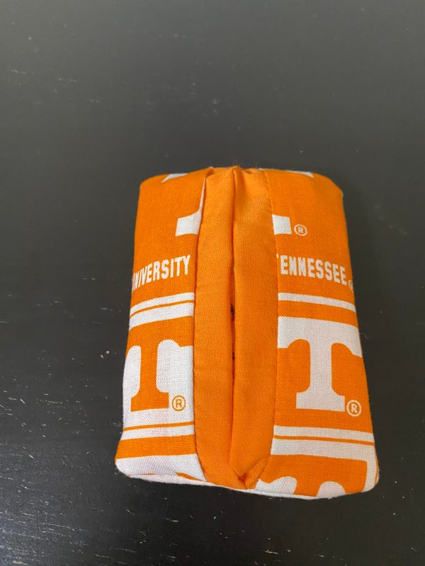 University of Tennessee Pocket Tissue Holder - A Pocket tissue holder for those Tennessee Vol Fans out there! #GoVols #Tennessee #Vols