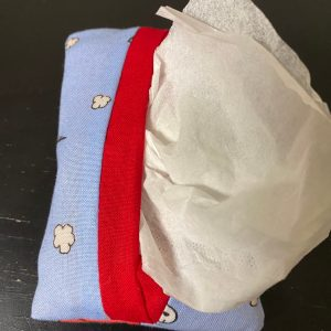 Snoopy Flying Ace Pocket Tissue Holder - Pocket Tissue holder based on Snoopy as the World War I Flying Ace. #Snoopy #FlyingAce
