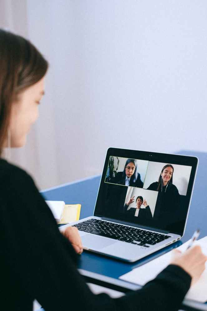 people on a video call - How to foster social skills in an era of social distancing - Families can get creative to help foster social skills in their youngsters as the world continues to confront social distancing and its potential side effects.