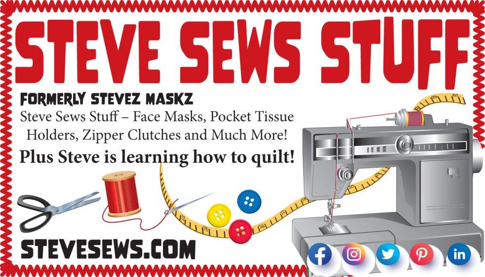 Steve Sews Stuff