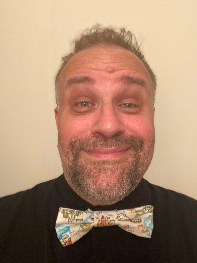 Steve wearing a bowtie. #Bowtie B.Allen's Bowties