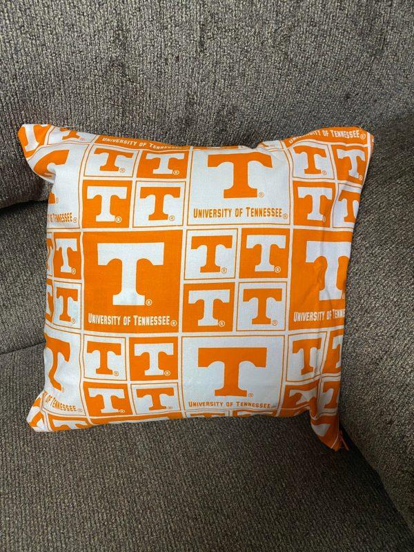 University of Tennessee Decorative Pillow - Power T Decorative Pillow - This pillow is great for any Vols fan. #VFL #Vols #DecorativePillow