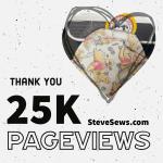 25,000 Pageviews