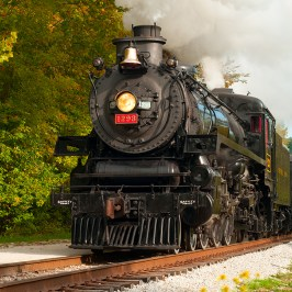Steam Locomotive Train