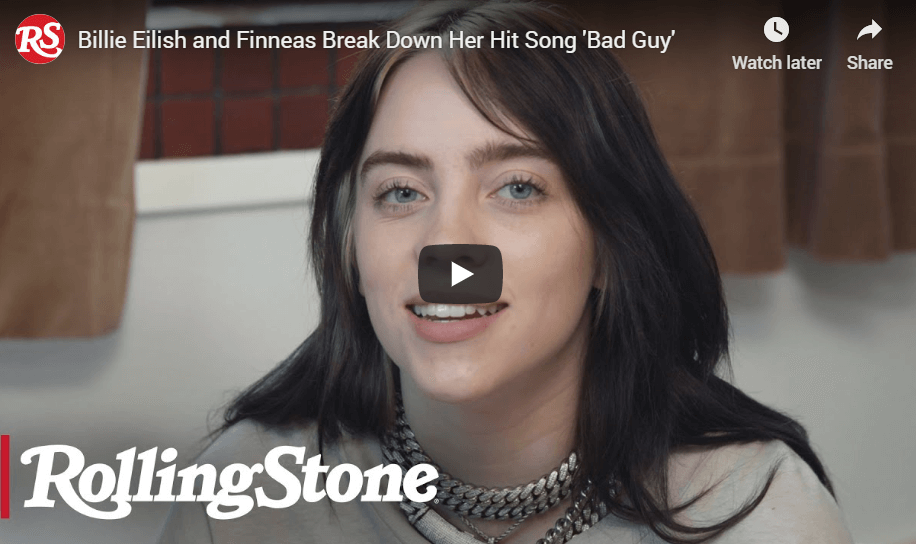 Billie Eilish & Her Brother Finneas Offer Fascinating Creative Insights on 'Bad Guy'