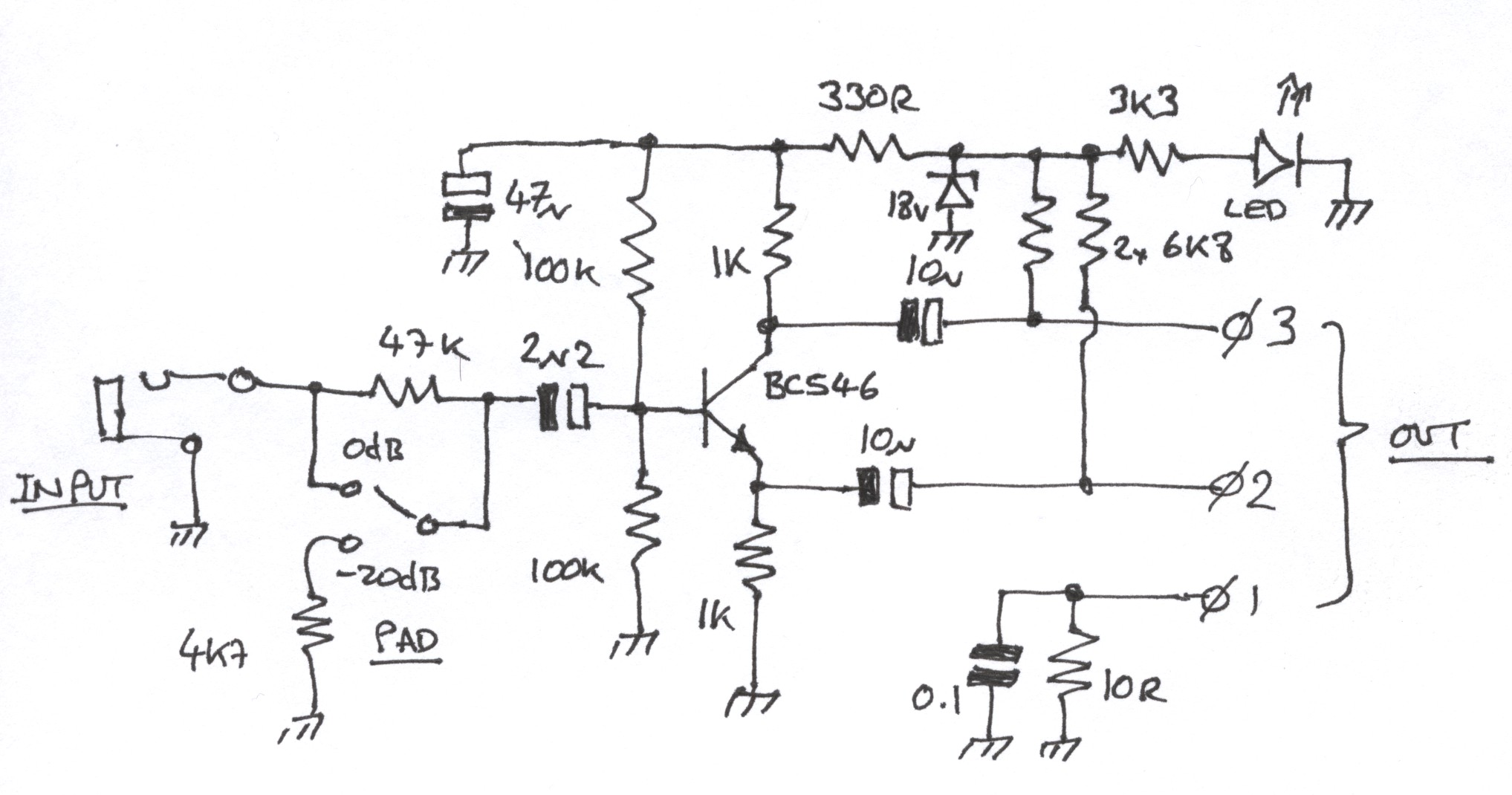 Rf Cable Schematic